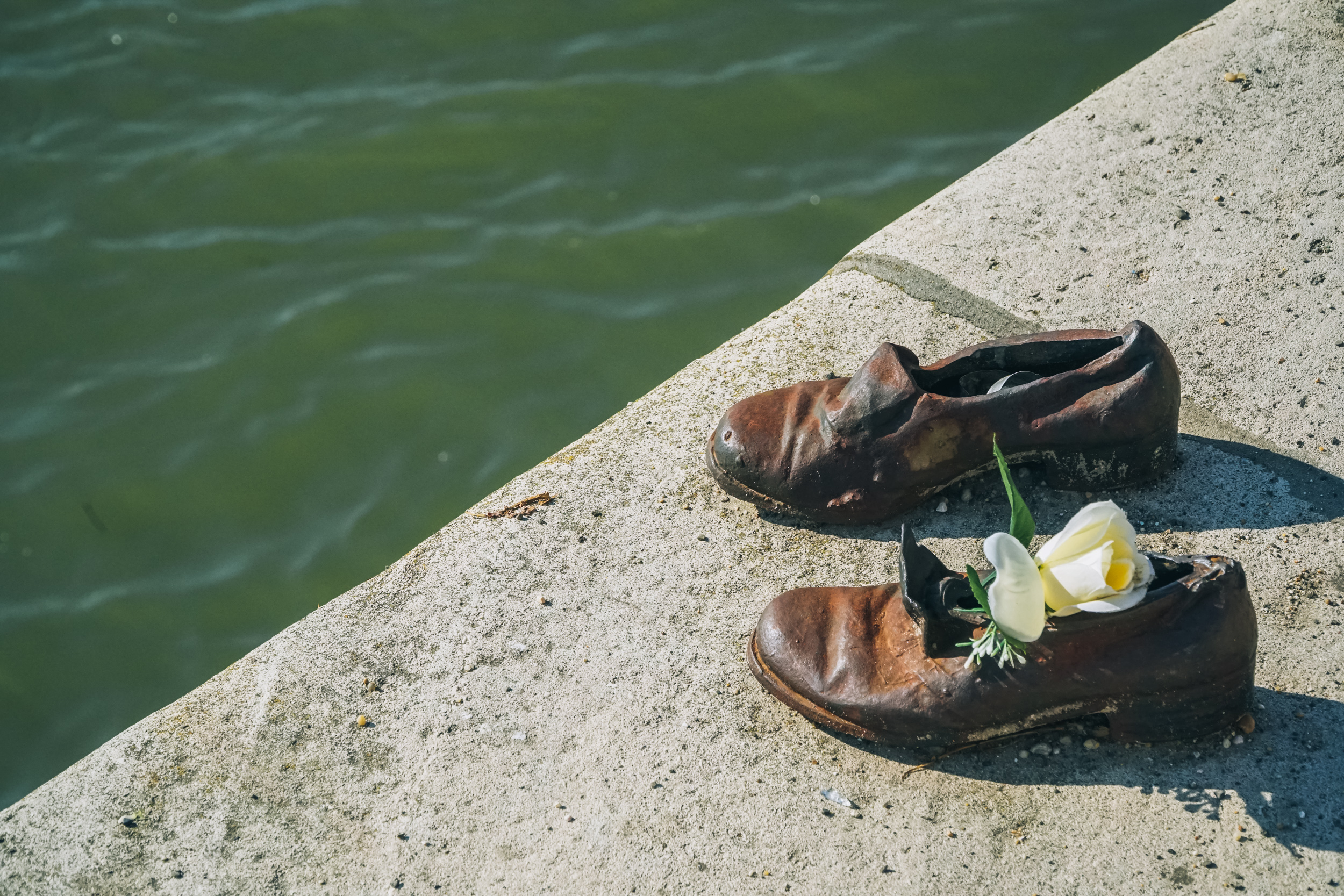 Budapest Shoes on Danube