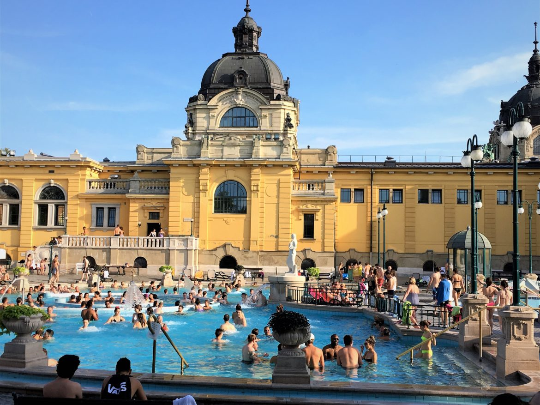 szechenyi baths Budapest