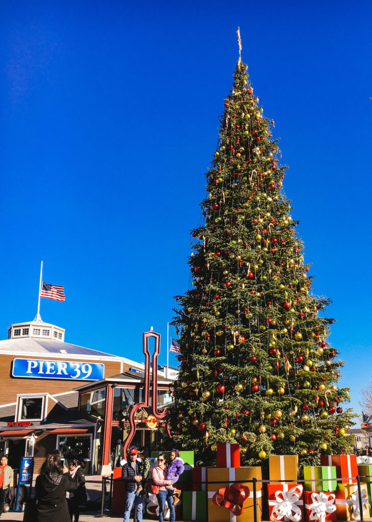 Pier 39 San Francisco Christmas