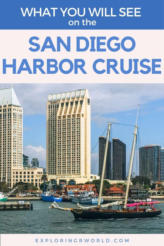San Diego Harbor Cruise Views - Exploringrworld.com