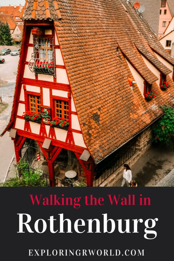 Walking the Wall in Rothenburg - Exploringrworld.com