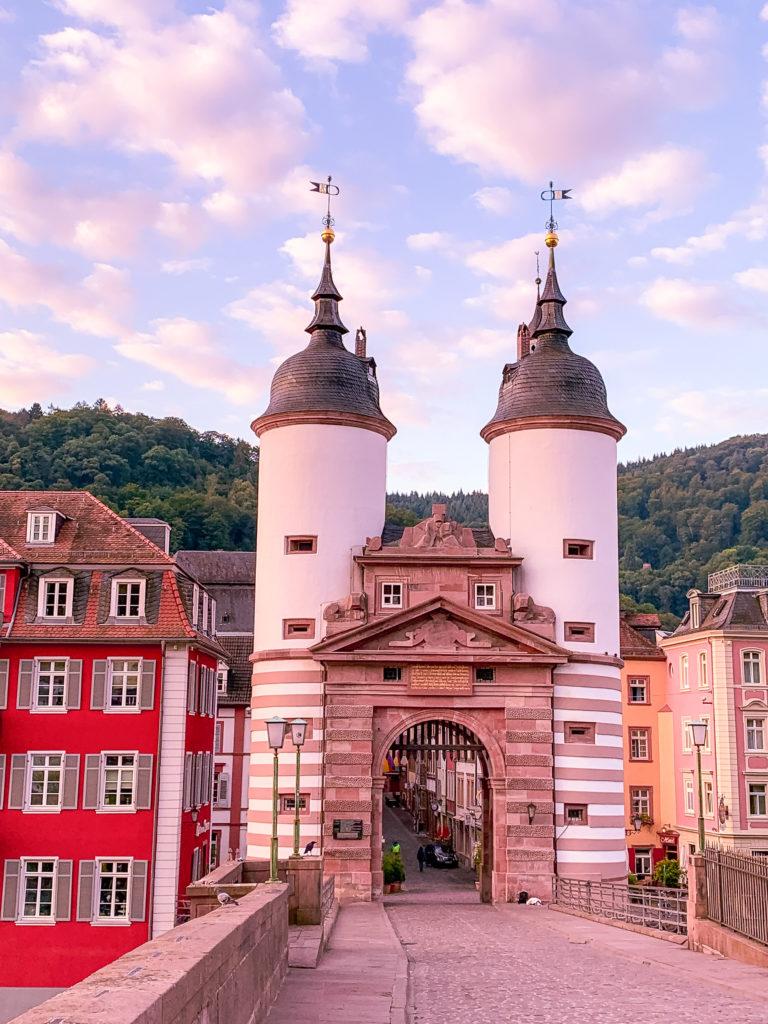 Iconic bridge - Old Bridge Heidelberg