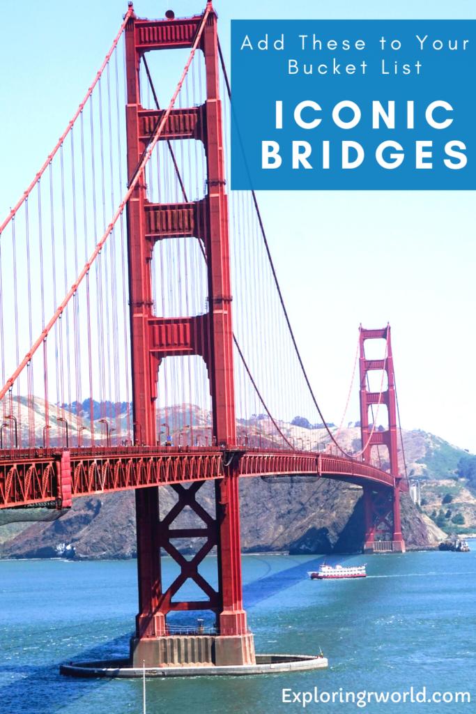 Iconic Bridges US Europe - ExploringrWorld.com