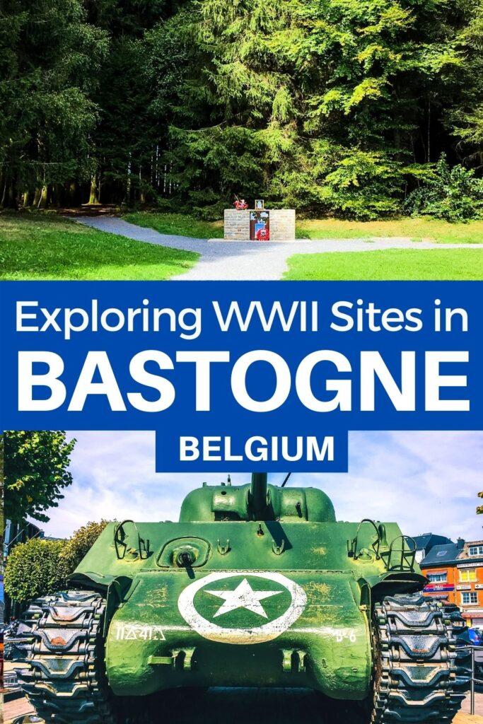 Bastogne WWII Belgium