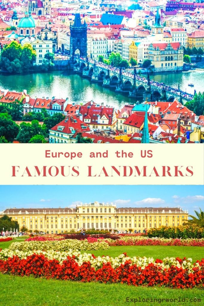 Landmarks of US Europe - Exploringrworld.com