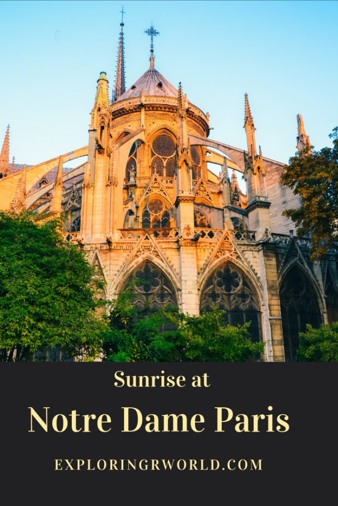 Notre Dame Paris Sunrise - Exploringrworld.com