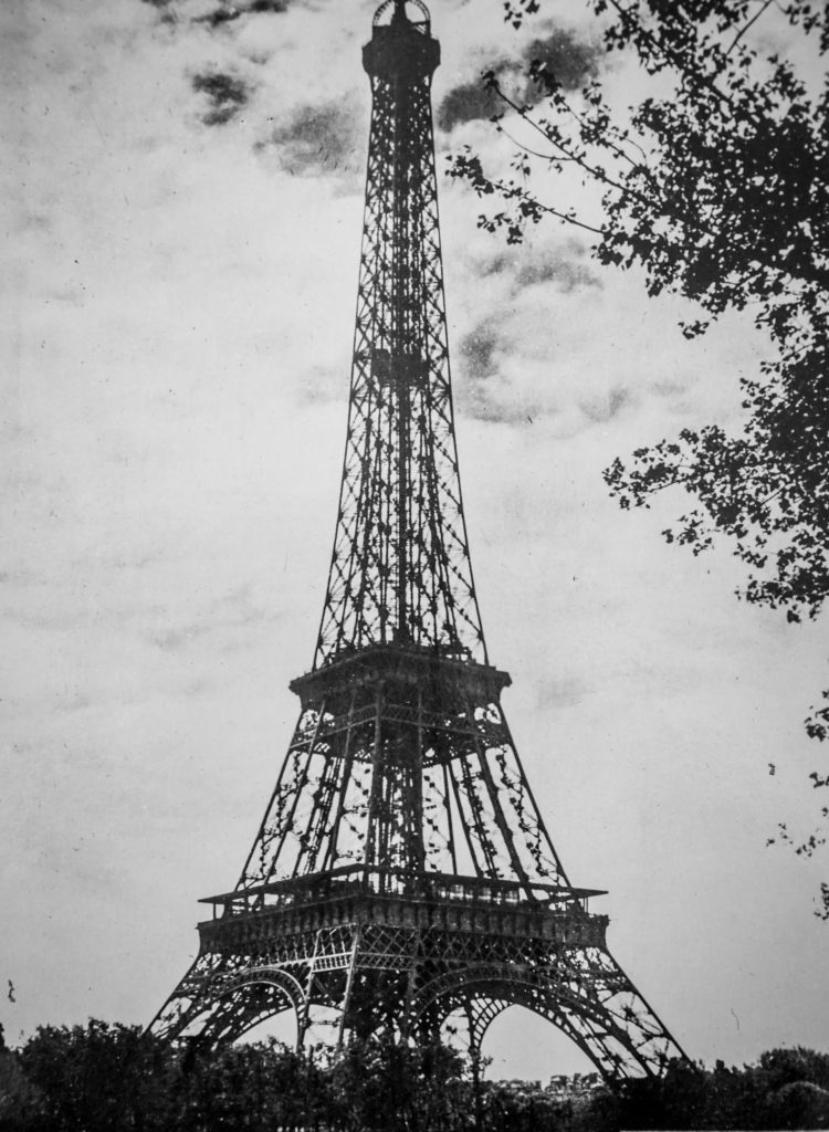 WWII Paris Eiffel Tower
