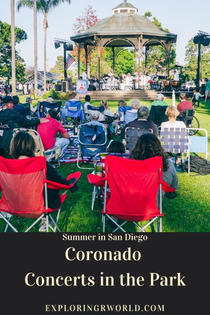 Coronado Summer Concerts San Diego -- Exploringrworld.com