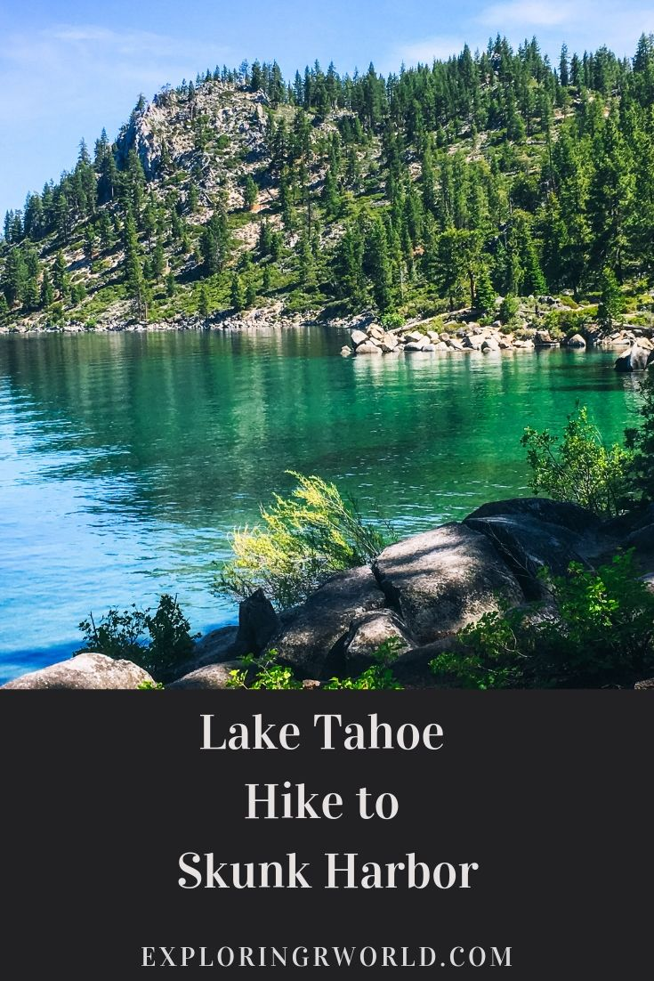 Lake Tahoe Hike to Skunk Harbor -- Exploringrworld.com