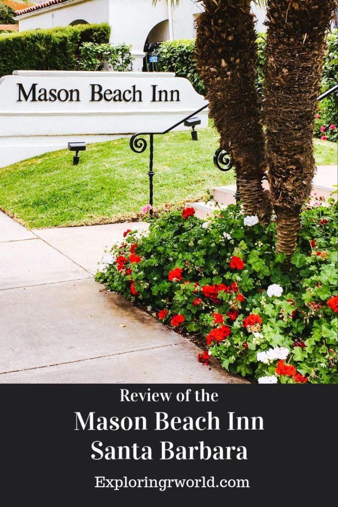 Mason Beach Inn Santa Barbara -- Exploringrworld.com