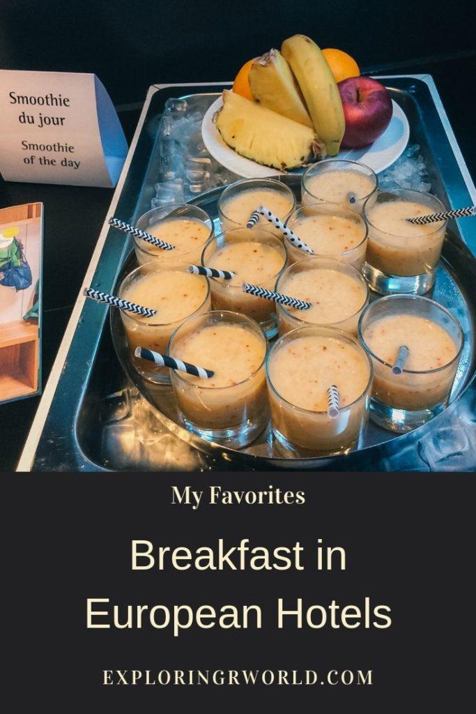 Breakfast European Hotels - Exploringrworld.com
