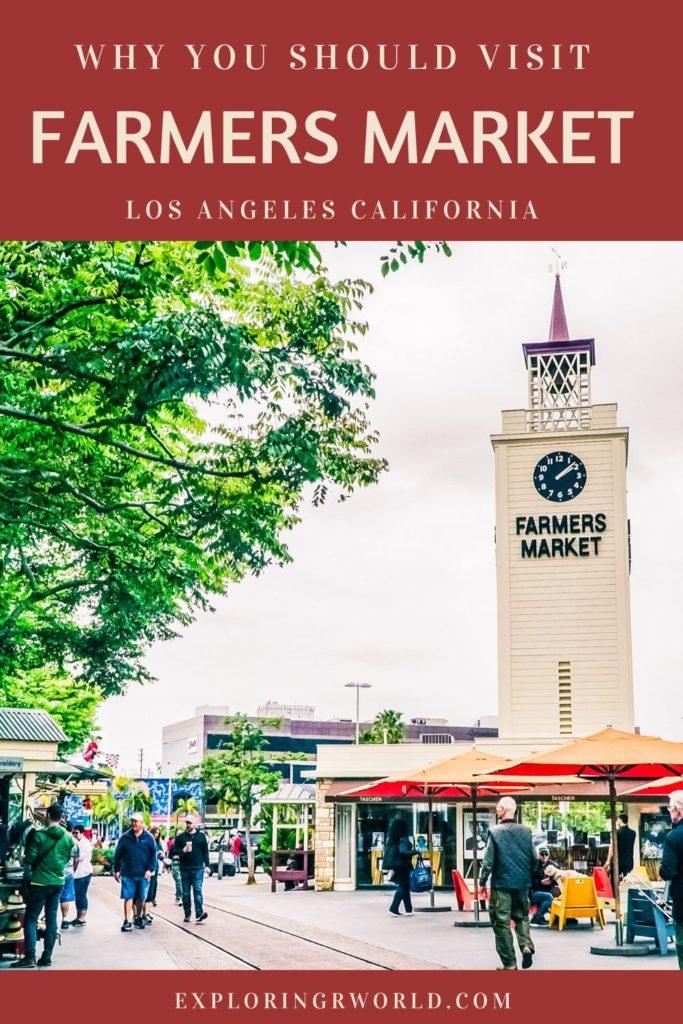Farmers Market Los Angeles - Exploringrworld.com