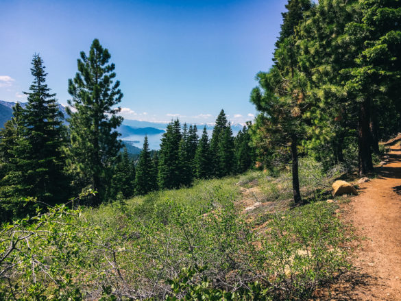 Lake Tahoe Incline Flume Trail