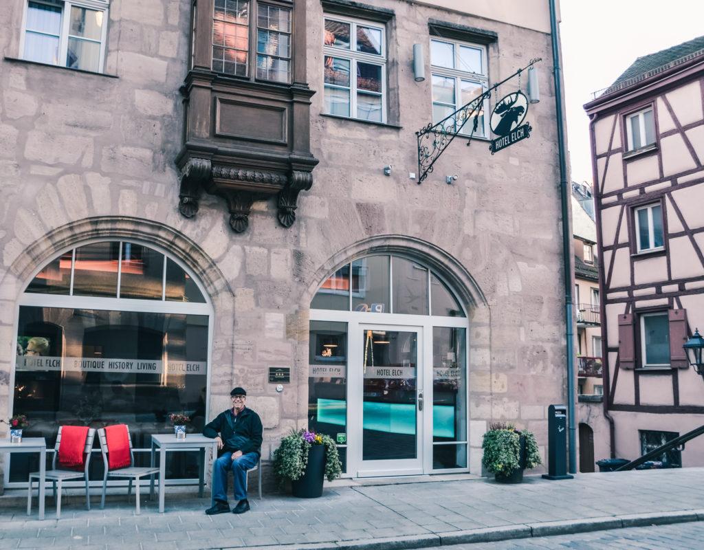 Nuremberg Germany, Hotel Elch