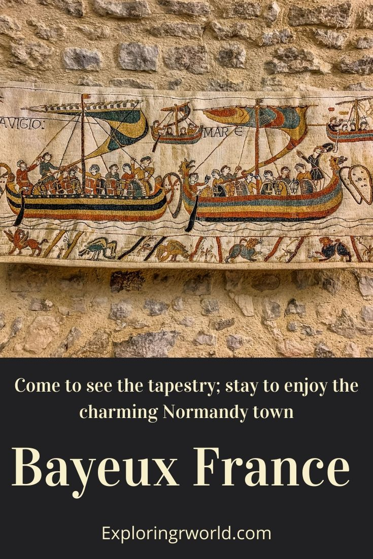 Bayeux Tapestry Normandy France - Exploringrworld.com