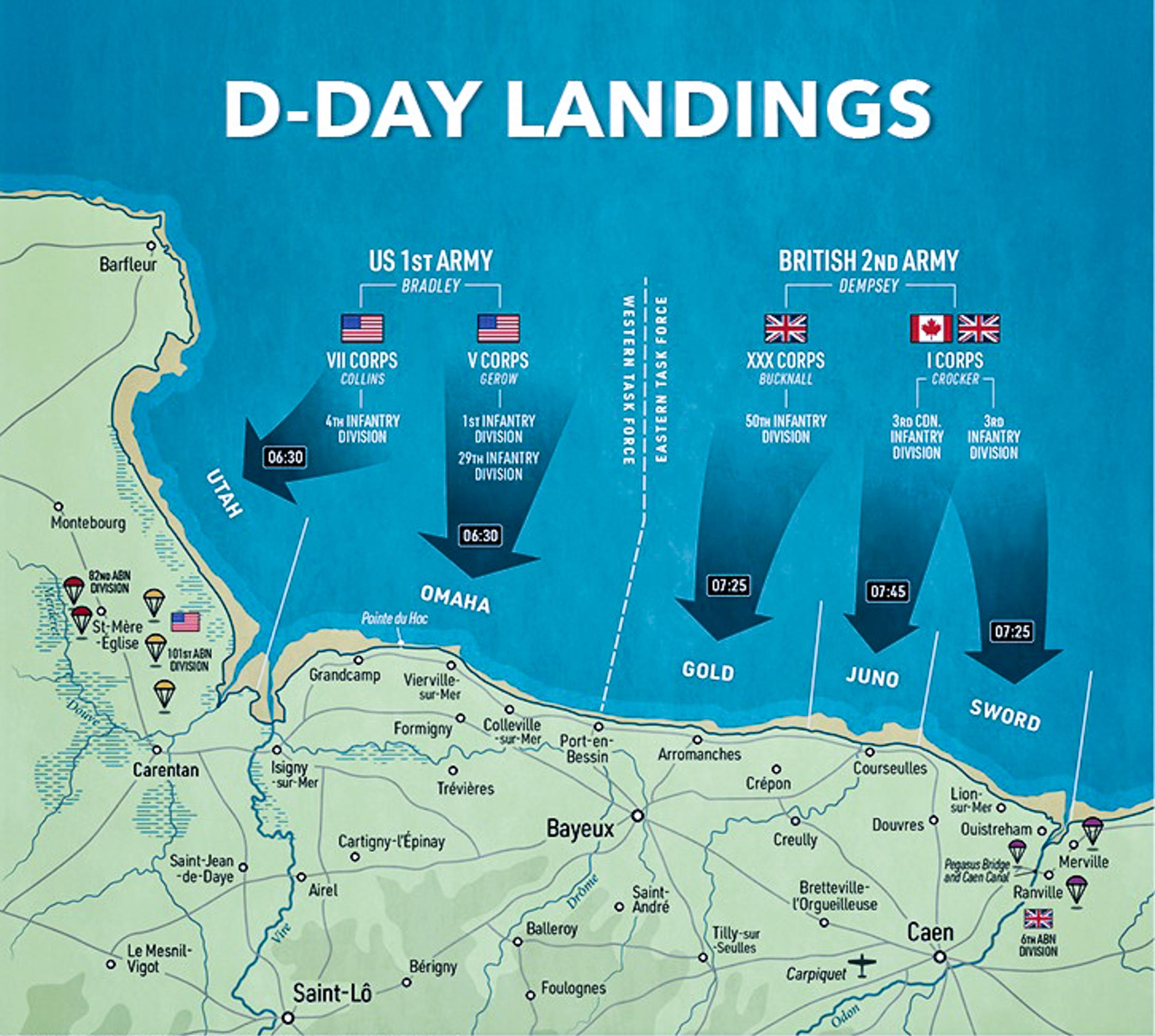 D-Day-landing-beaches-map