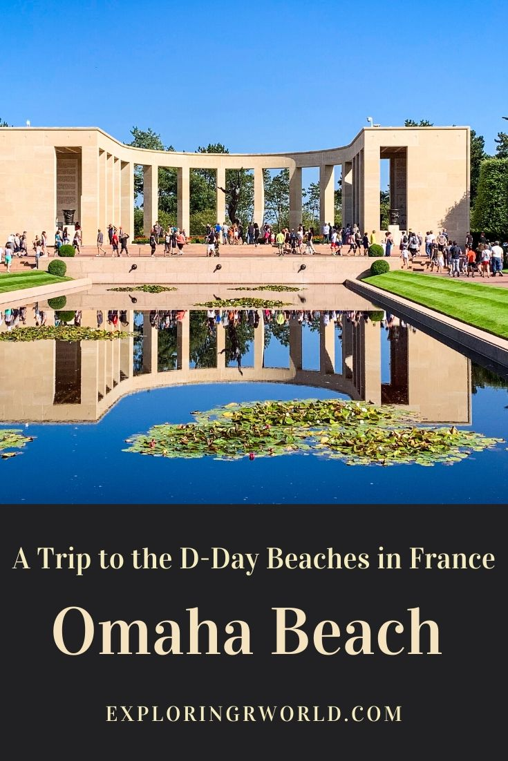 DDay Beaches Omaha Normandy France - Exploringrworld.com