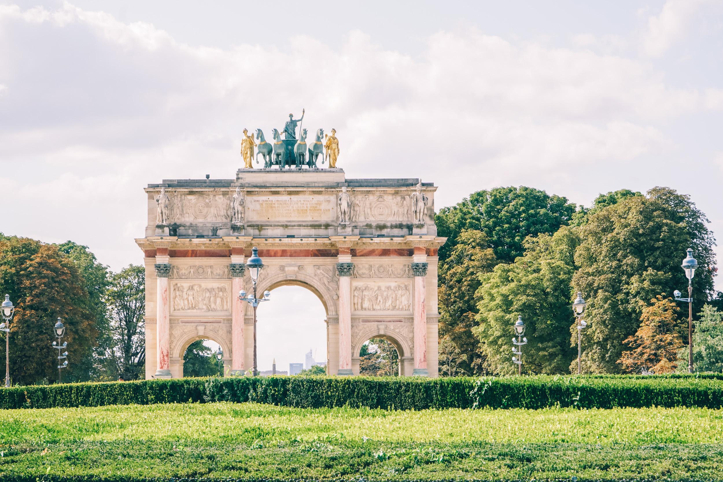 Paris Arch de Triomphe du Carrousel