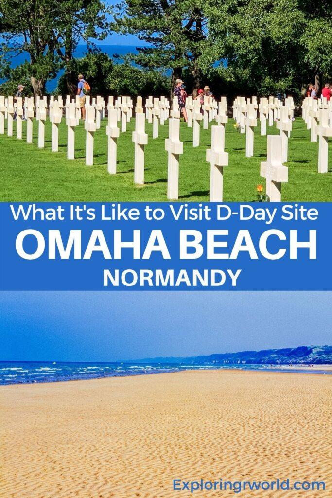 Omaha Beach DDay Beach Normandy France