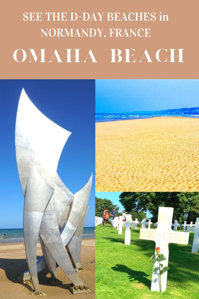 Omaha Beach Normandy - Exploringrworld.com