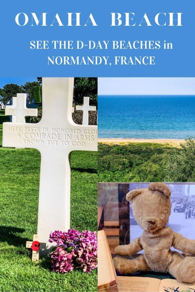 Omaha Beach Normandy France - Exploringrworld.com