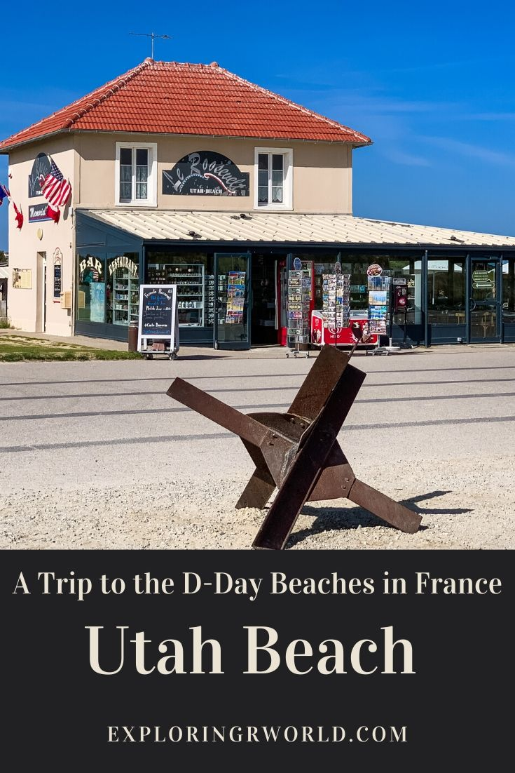 Utah Beach DDay Beach Normandy France - Exploringrworld.com