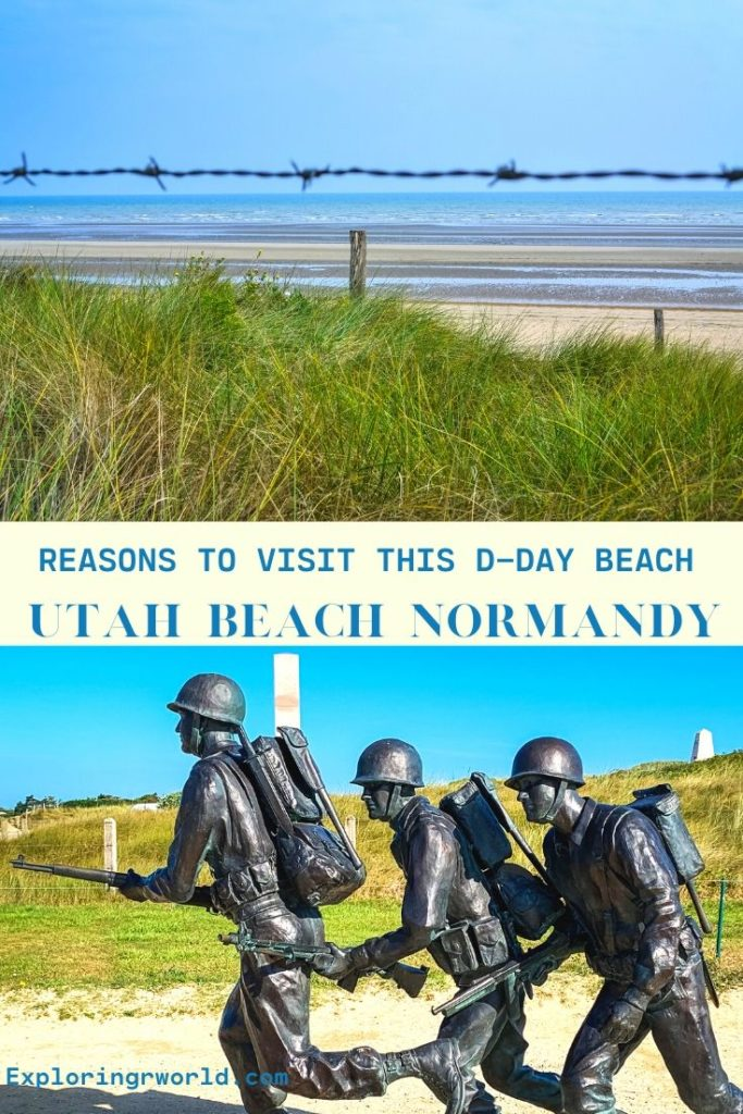 Utah Beach Normandy DDay - Exploringrworld.com