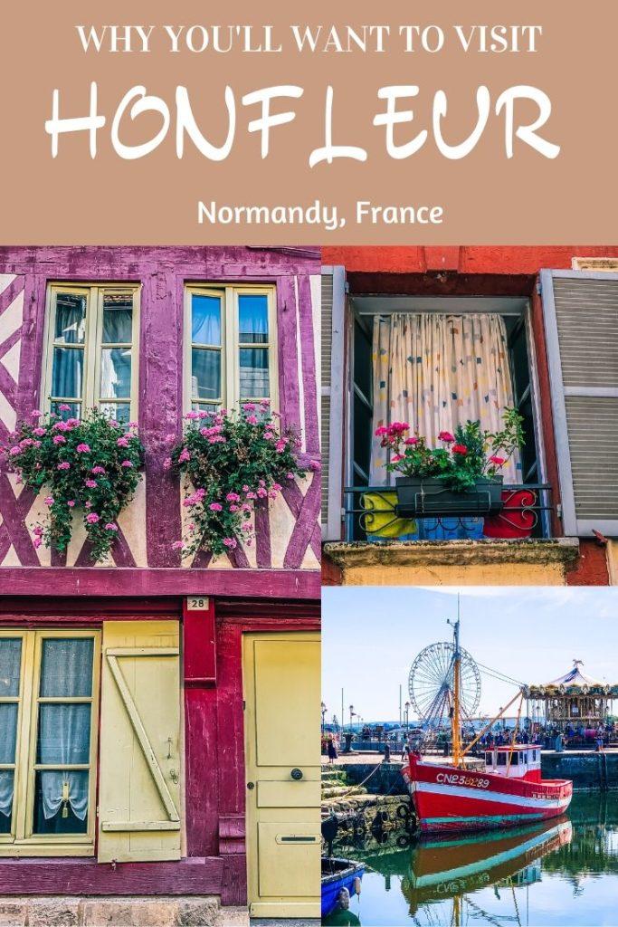 Honfleur Normandy France - exploringrworld.com