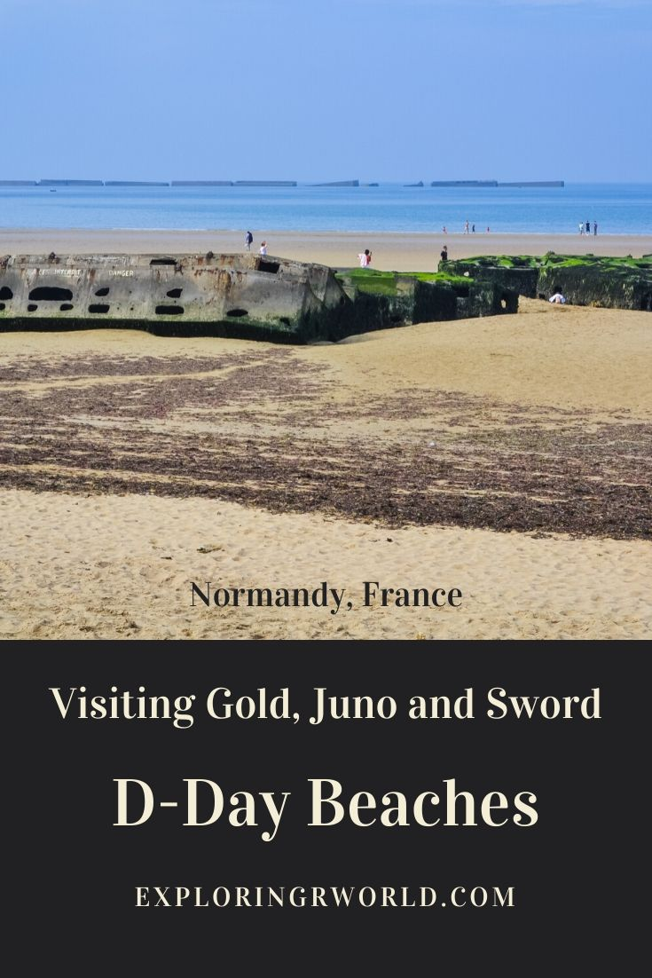 D-Day Beaches Gold, Juno, Sword Normandy France - Exploringrworld.com