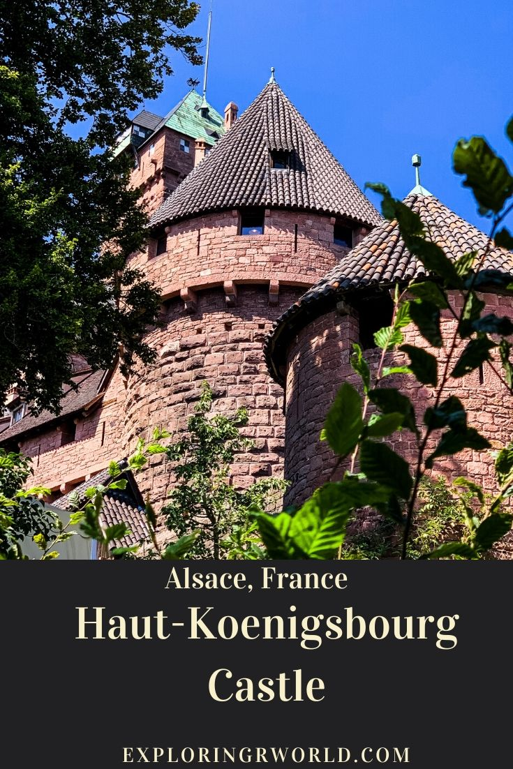 Haut-Koenigsburg Castle France -Exploringrworld.com