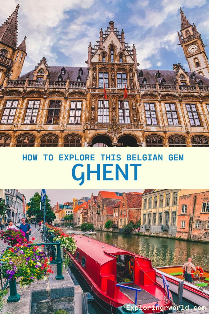 Belgian City of Ghent - Exploringrworld.com