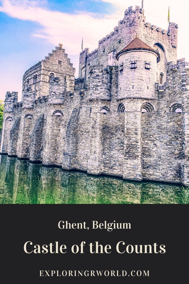 Castle of the Counts Ghent Belgium - Exploringrworld.com