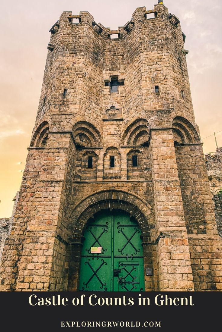Ghent Castle of Counts Belgium - Exploringrworld.com