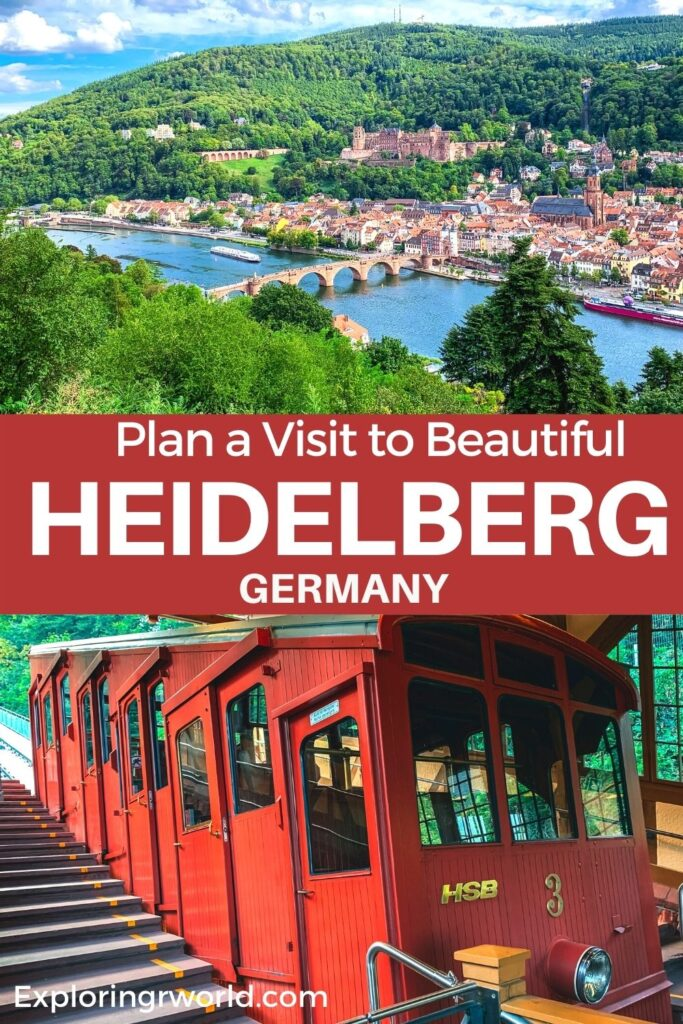 Heidelberg Castle and Funicular Germany