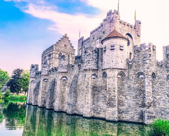 Castle of the Counts Ghent Belgium