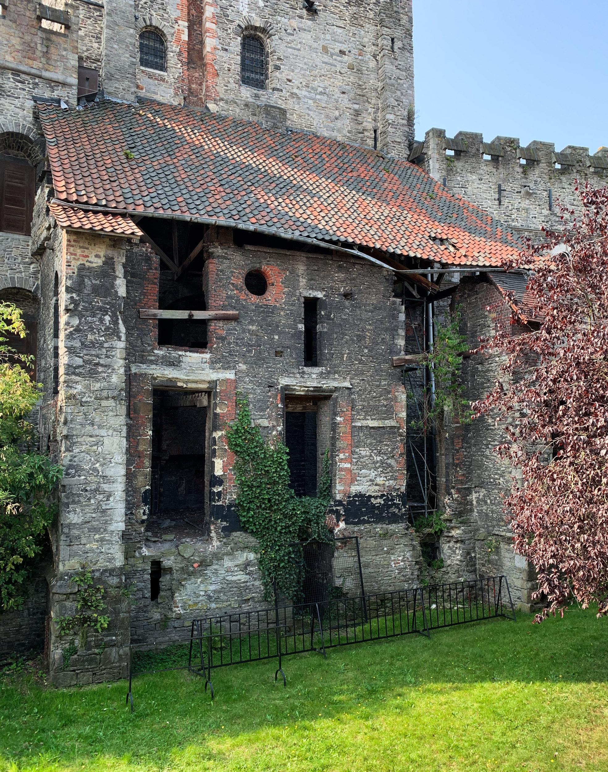 Castle of the Counts Ghent Belgium