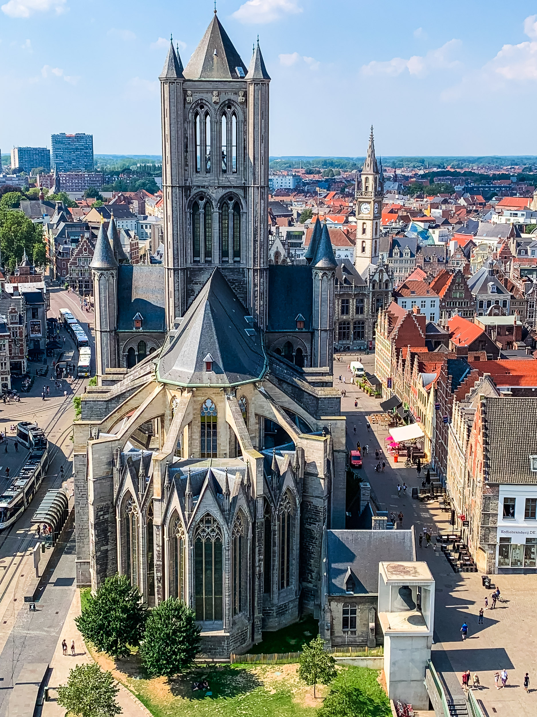 Ghent Belgium Belfry