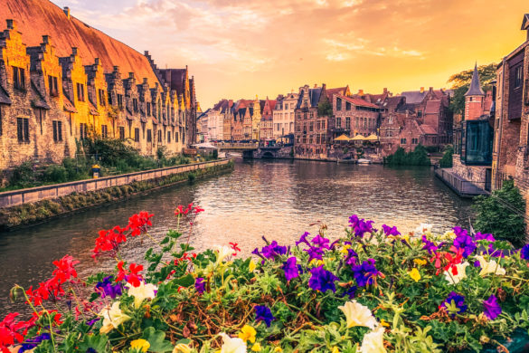 Belgian City of Ghent