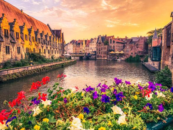 Belgian City of Ghent