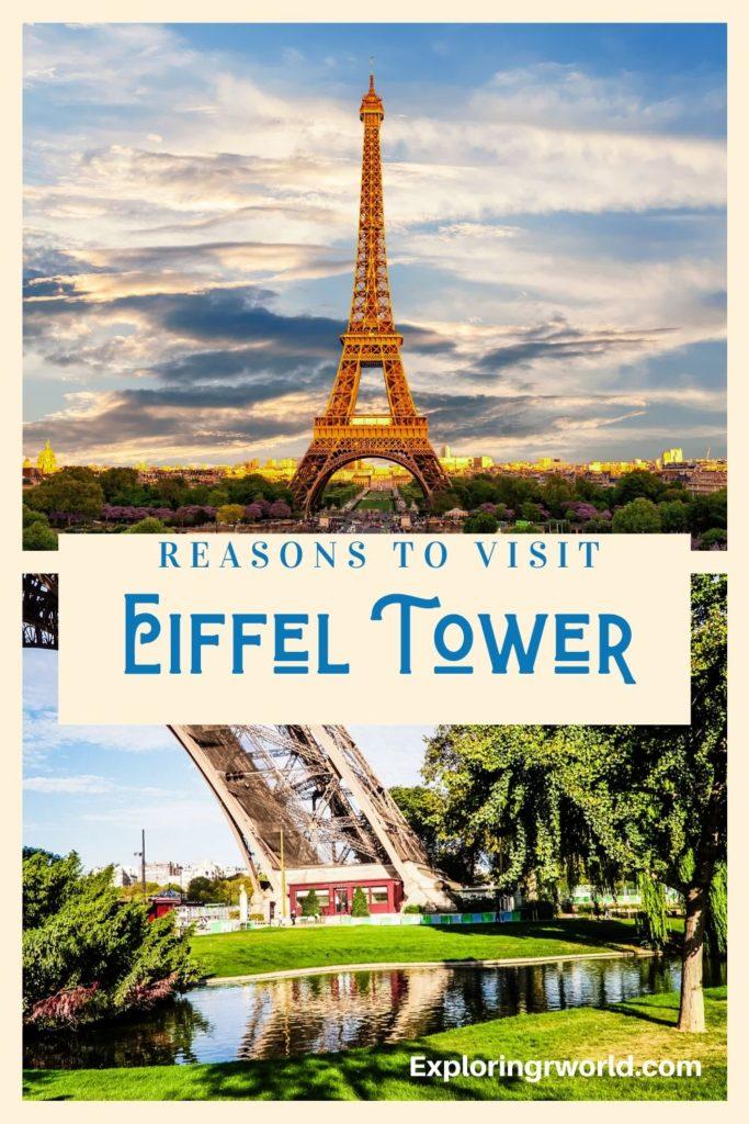 Eiffel Tower Paris - Exploringrworld.com