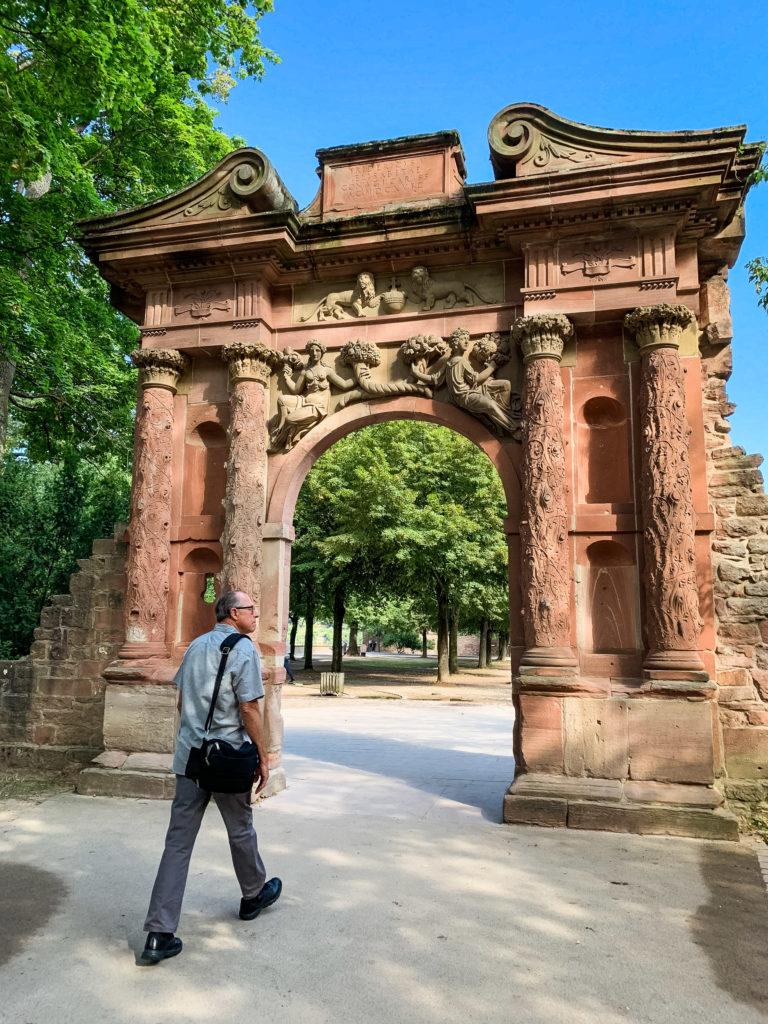 Heidelberg Castle Arch