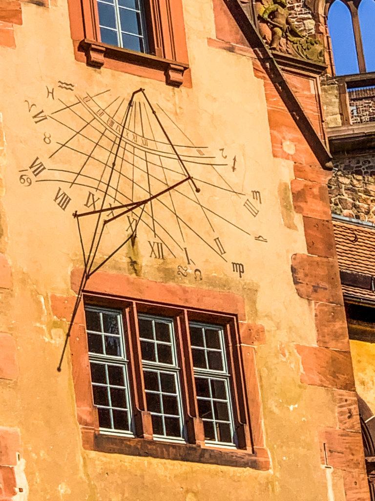 Heidelberg Castle Sun Dial