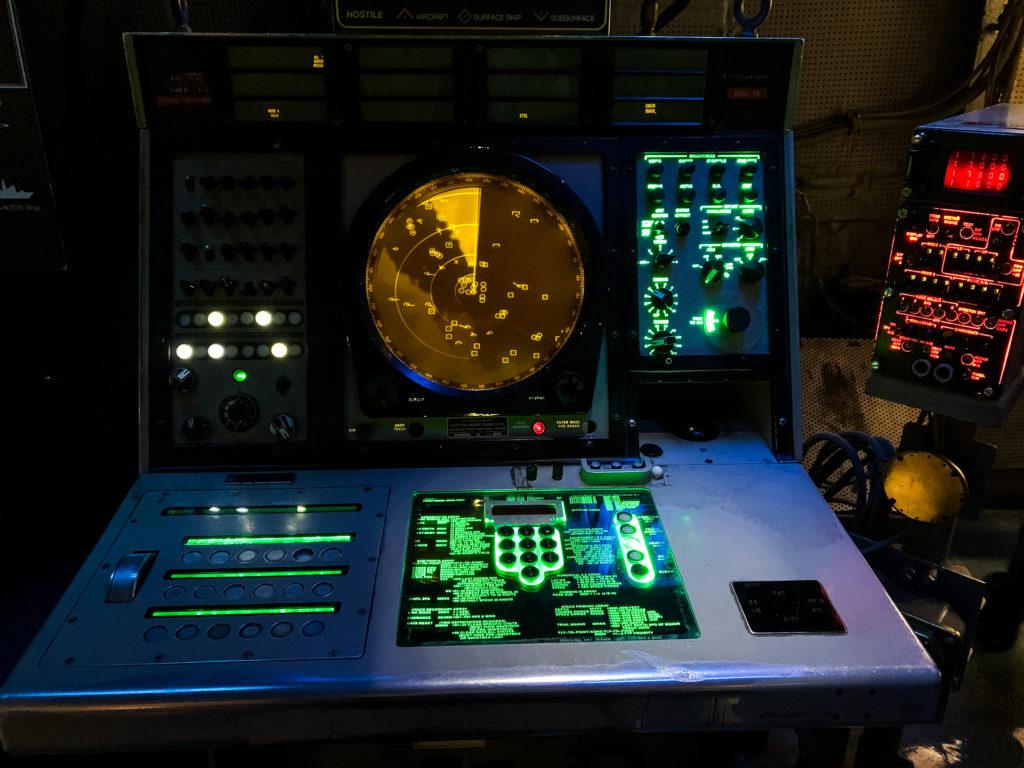 USS Midway Museum radar