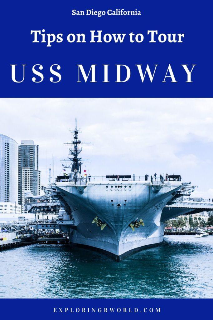 USS Midway San Diego - Exploringrworld.com