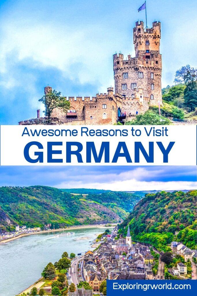Germany Castles Rhine River