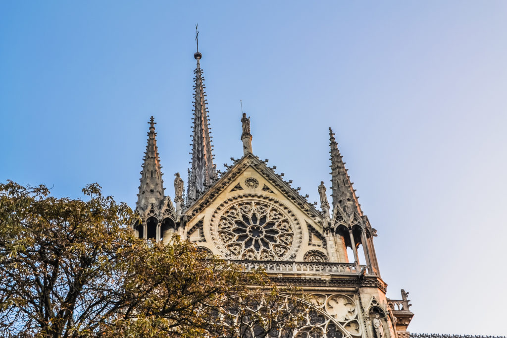 Notre Dame Paris spire