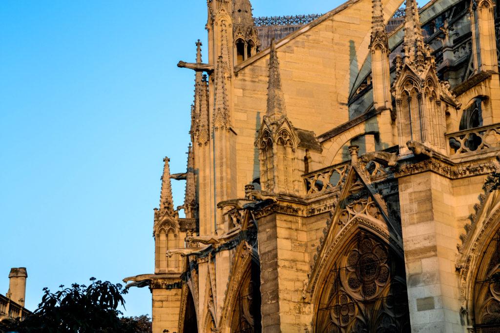Notre Dame Paris gargoyles