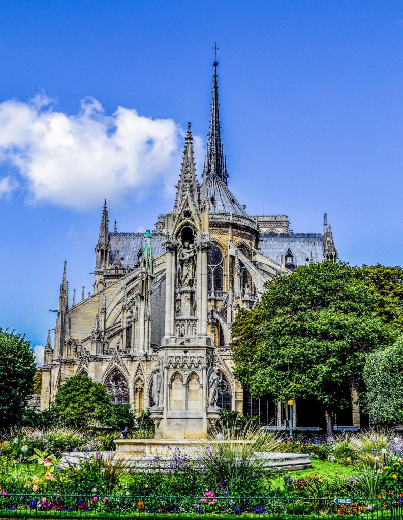 Spire Notre Dame