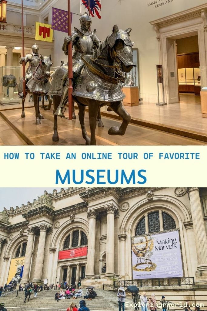 Online Tours of Museums - Exploringrworld.com