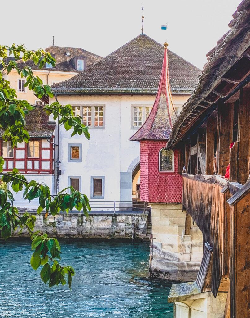 Spreuer Bridge Lucerne